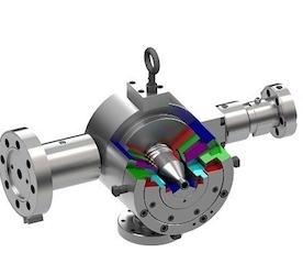 Co-Extrusion Crosshead